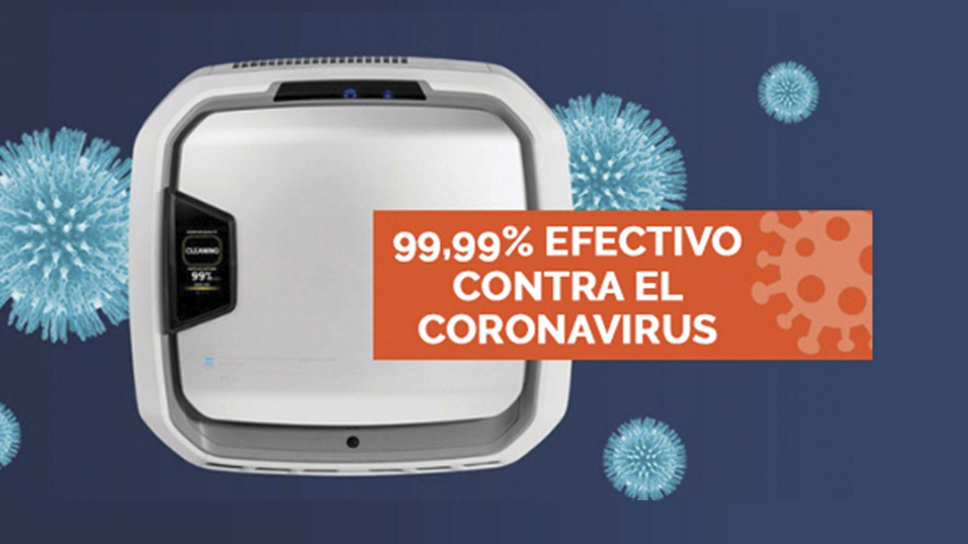 Los purificadores AeraMax Pro son 99.99% efectivos contra el Coronavirus